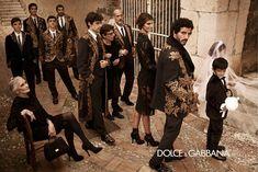 Семейные ценности Dolce & Gabbana. Рекламные кампании разных лет. | СПЛЕТНИК