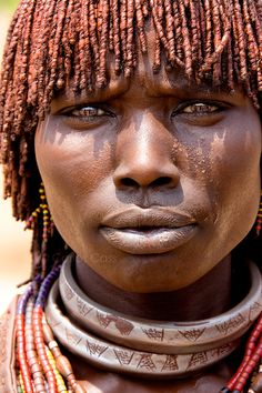 Hamer Tribe Woman, Ethiopia, by Carlos Cass.