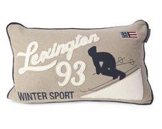 Lexington Kissenhülle Holiday Ski 30 x 50 cm
