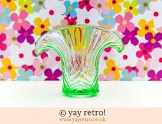 Uranium Glass from yay retro!