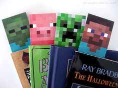 Check out the coolest minecraft birthday party favors for kids. Fun, easy and exciting minecraft party favors from treats to toys for your special occasion. All the children will enjoy these ideal minecraft gifts for a thank you. Minecraft Crafts, How To Play Minecraft, Minecraft Classroom, Minecraft Printable, Minecraft Room, Minecraft Birthday Party, 8th Birthday, Birthday Parties, Minecraft Party Favors