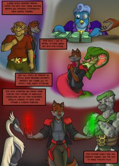 Sly Cooper: Thief of Virtue Page 337 by ConnorDavidson on DeviantArt