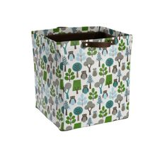 Wear: DwellStudio OWLS SKY LARGE STORAGE BIN // http://ohjoy.blogs.com/my_weblog/2012/01/baby-registry.html