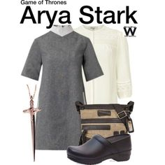 Wear What You Watch • Inspired by Maisie Williams as Arya Stark on Game...
