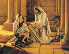 Pictures of Jesus with Children by Simon Dewey | Altus Fine Art