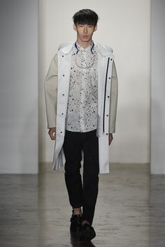 New York Fashion Week Spring 2015 - Patrik Ervell Spring 2015