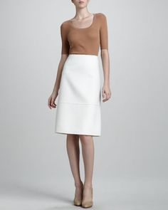 Felt A-Line Skirt by MICHAEL KORS at Last Call by Neiman Marcus.