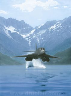 Power by Dru Blair  http://www.drublair.com/power.html  #aviation #art