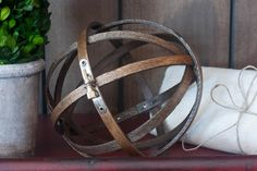 DIY Embroidery Hoop Orb - Made From Pinterest