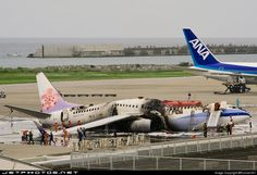 Caught On Video: China Airlines Flight 120 bursts into flames at Okinawa airport. https://www.youtube.com/watch?v=-qyZFASOAe0 …