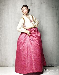 Hanbok, korean traditional clothes / My wedding / 따스한 동행 따스한 동행 / 봅데강
