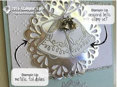 CARD: Wedding Bell Wishes from Seasonal Bells | Stampin Up Demonstrator - Tami White - Stamp With Tami Crafting and Card-Making Stampin Up blog