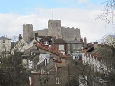 Lewes Castle in England