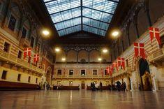 Copenhagen - Inside the Rådhus Baltic Sea, Copenhagen, Denmark, Backpack, Louvre, Building, Travel, Viajes, Buildings