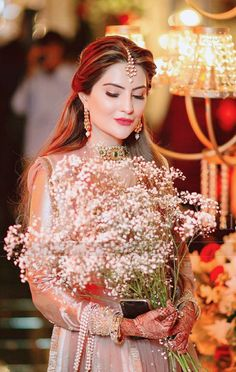 Image shared by 😘Aleena😘. Find images and videos about cute, beautiful and awesome on We Heart It - the app to get lost in what you love. Pakistani Fashion Party Wear, Pakistani Wedding Outfits, Fashion Mask, Swag Fashion, 2000s Fashion, Fashion Jewelry, Fashion Trends, Bridal Portrait Poses, Stylish Girl Images