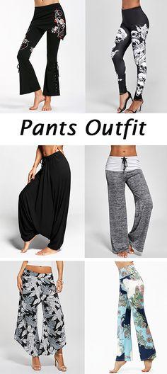 fashion trends:Wide Leg Pants,Flare Pants,Skinny Pants,Palazzo Pants and Boho Pants