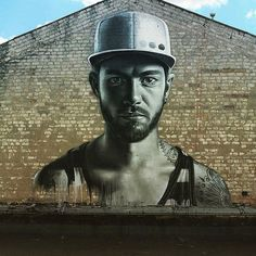 The work of Sasha Korban in Kiev Ukraine #streetart #streetartnews by streetartnews