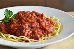 My Fall Dinner Party Menu - My Mama's Spaghetti Bolognese