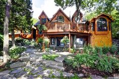 Beautiful home with amazing landscaping listed now at $1,795,000. See more here: http://www.lakeofbayscottages.ca/listing/3295-south-portage-rd-huntsville-ontario-481000393/ #muskoka #lakeofbays #cottage #buying #selling