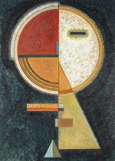 Painting Abstract Geometric Wassily Kandinsky 19 New Ideas Kandinsky Art, Wassily Kandinsky Paintings, Geometric Art, Geometric Painting, Monet, Art Day, Art Lessons, Modern Art, Abstract Art