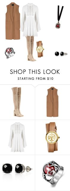 """Sin título #19"" by lucia-valle-sanchez on Polyvore featuring Gianvito Rossi, Alexander Wang, For Love & Lemons, Tory Burch, Belk & Co. and Design Lab"