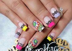Nail Art, Nails, Beauty, Nail Ideas, Make Up, Hair, Stuff Stuff, Short Nails Art, Short Nail Manicure