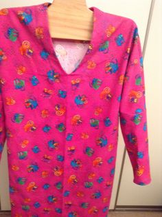 a fun nightshirt.  Made by Ruthie Snell.