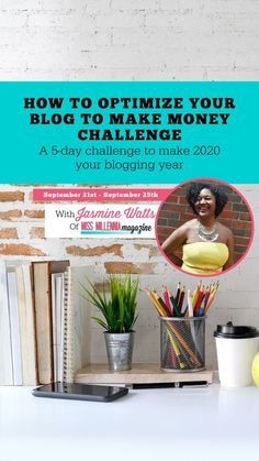 Was making more money with your blog one of your goals this year? Then you should join our totally FREE 5-Day challenge to help you do just that. Over the 5 days, I will work with you and a close-knit group of other bloggers to walk you through my exclusive 5-Step process to go from a beginner blog to a blog that is optimized to make consistent income for you. Want in? ​Great, just click below and save your seat and I'll see you inside!​