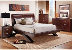 Shop for a Kristina  5 Pc Queen Bedroom at Rooms To Go. Find Bedroom Sets that will look great in your home and complement the rest of your furniture.