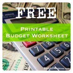 Free+Printable+Budget+Worksheet