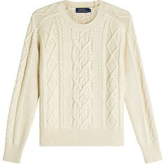Ralph Lauren Polo Cable Knit Cotton Pullover