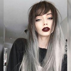 Fashion gray ombré