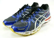 Asics Gel Kayano 19 110 Men S Running Shoes Size 13 Black Royal