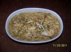 Easy Crockpot Chicken and Dressing
