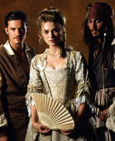 Pirates of the Carribean... before Elizabeth and Will Turner turned into pirates.