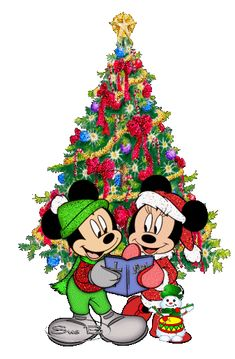 Mickey & Minnie Mouse - Christmas