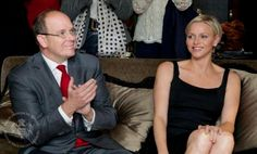 Their Serene Highnesses Prince Albert II and Princess Charlene of ...