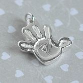 Personalised Handprint Charm
