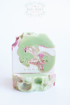 Green Apples Luxury Soap bar by Eliza Jane Soap Company - Spring 2015