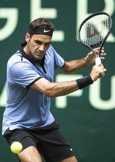 June 20th 2017 Roger Federer achieves 1100 career victories today in Halle.