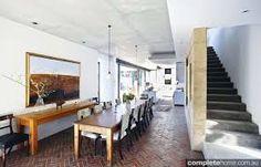 Ariane Prevost architect  -love the use of bricks? on the floor