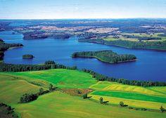 Masuria one of the many beautiful regions of poland