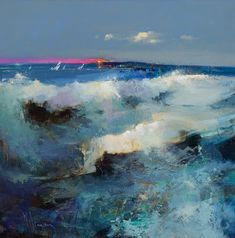 Peter Wileman (British, b. 1946, Middlesex, UK) - A Close Run Thing Paintings: Oil on Canvas