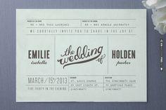 Minimalist Wedding Invitations | WEDDINGPINS.NET | #weddinginvitations2016