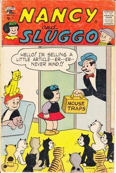 Nancy and Sluggo comic.