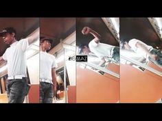 El Justin Timberlake venezolano bailando N'Sync y LocoMía en el Metro de Caracas