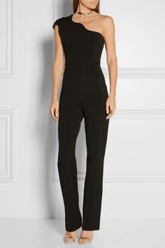 CUSHNIE ET OCHS Stretch-jersey one-shoulder jumpsuit  $1,695.00 https://www.net-a-porter.com/products/648969