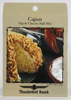 Cajun Cheese Ball & Dip Mix