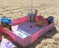 Van de zomer naar het strand? Neem een hoeslaken mee!