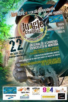 July 22: Mountain Biking Jungle Challenge, 10-40km